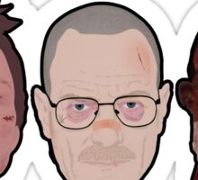 Breaking Bad - Faces Of Meth Sticker