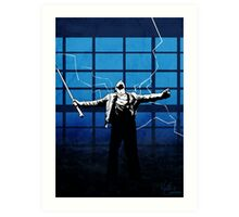 'There can be only one' - Highlander Art Print