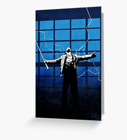 'There can be only one' - Highlander Greeting Card