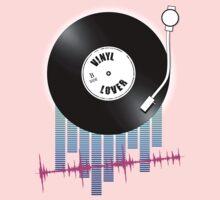 Vinyl Lover Kids Tee