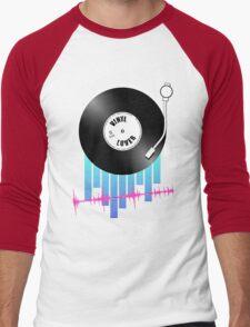 Vinyl Lover Men's Baseball ¾ T-Shirt