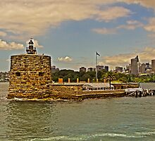 Pinchgut  (Fort Denison) by TonyCrehan