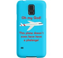 This plane doesn't even have a phalange! Samsung Galaxy Case/Skin
