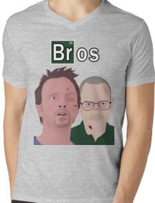 Breaking Bad - Bros Mens V-Neck T-Shirt