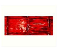 Simply Red Art Print