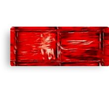 Simply Red Canvas Print