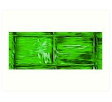 Simply Green Art Print