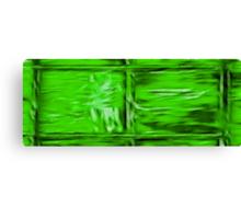Simply Green Canvas Print