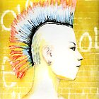 She Is A Punk Rocker by Karen Clark