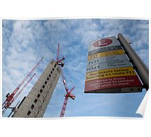 New flats  with good transport links! Poster