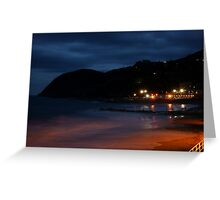 Levanto notte 1 Greeting Card