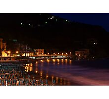 Levanto notte 2 Photographic Print