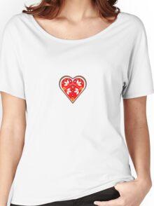 Folk heart 1 centre Women's Relaxed Fit T-Shirt
