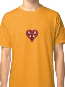 Folk heart 2 centre Classic T-Shirt