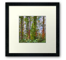 Poison beauty Framed Print