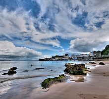 North Beach Tenby Pembrokeshire by Steve Purnell