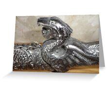 dragon sword Greeting Card