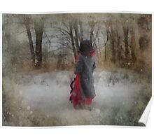 Walking In Winter Wonderland Poster