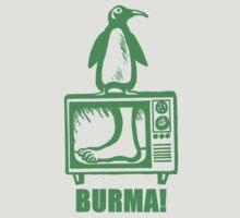 """Monty Python - """"BURMA!"""" by twistytwist"""