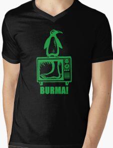 """Monty Python - """"BURMA!"""" Mens V-Neck T-Shirt"""