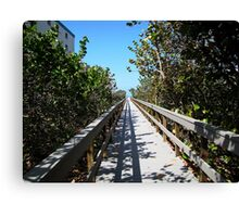 One of the way to the St.Pete beach Canvas Print