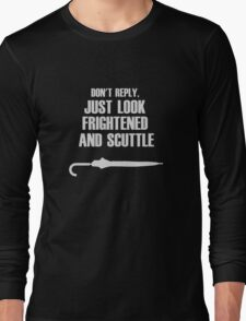 Sherlock - Mycroft's Mannered Menace Long Sleeve T-Shirt