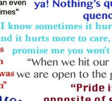 Avatar Quotes Sticker