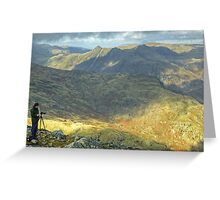 The Old Man Of Wetherlam Greeting Card
