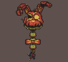 Halloween Bonnie - Five Nights at Freddys 4 - Pixel art One Piece - Short Sleeve