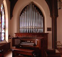 Christ Church, Newton, NJ    II/23 by reuter organ