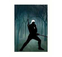 'The Witcher' - Geralt  Art Print