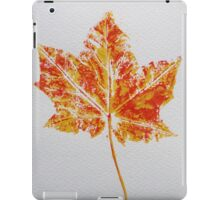 Maple Leaf Print 2 iPad Case/Skin