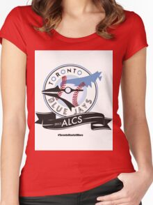 Toronto Blue Jays! Women's Fitted Scoop T-Shirt