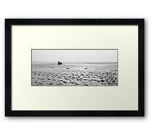 Low Tide 02 - Lytham St Annes, Lancs, UK Framed Print