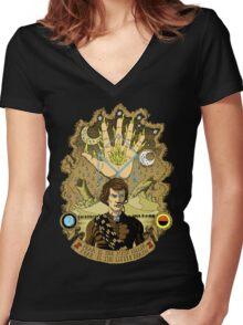 The Sleeper Awakens Women's Fitted V-Neck T-Shirt