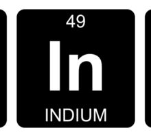Th In K - Think - Periodic Table - Chemistry Sticker