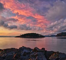 Deception Pass Sunset by Dan Mihai