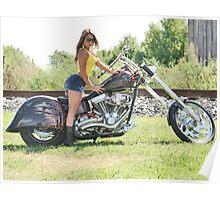Sandra Bike 1 Poster