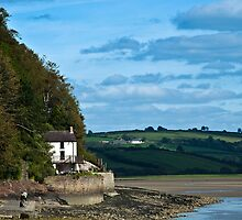 The Boat House at Laugharne Carmarthenshire by Steve Purnell