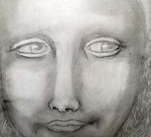 Mona Lisa after da Vinci by Mariaan Maritz Krog Fine Art Portfolio