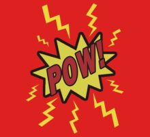 POW! T-Shirt Design Kids Clothes