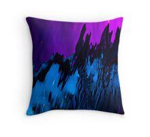 Undersea Volcano Throw Pillow