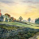 Dawn Breaking, Alston, Cumbria by Glenn Marshall