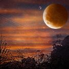 A stormy evening on a distant world by Scott Mitchell