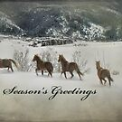 Season's Greetings by Kay Kempton Raade
