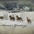 Season's Greetings by Kay Kempton Raade