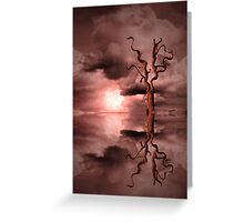 Sun Set Dream Greeting Card