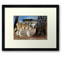The Spirit of the Wolf Framed Print