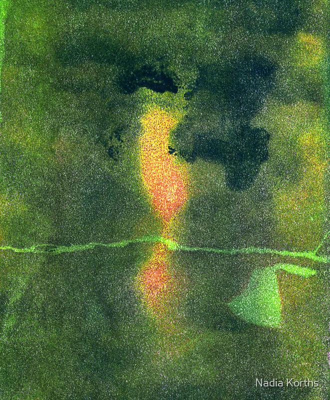 Broccoli Heads II - 3 - b by Nadia Korths