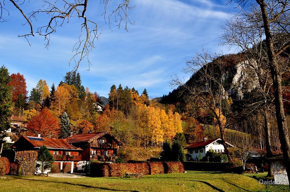 Hometown at Fall 2 by Daidalos